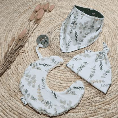 Baby Cadeau set Eucalyptus